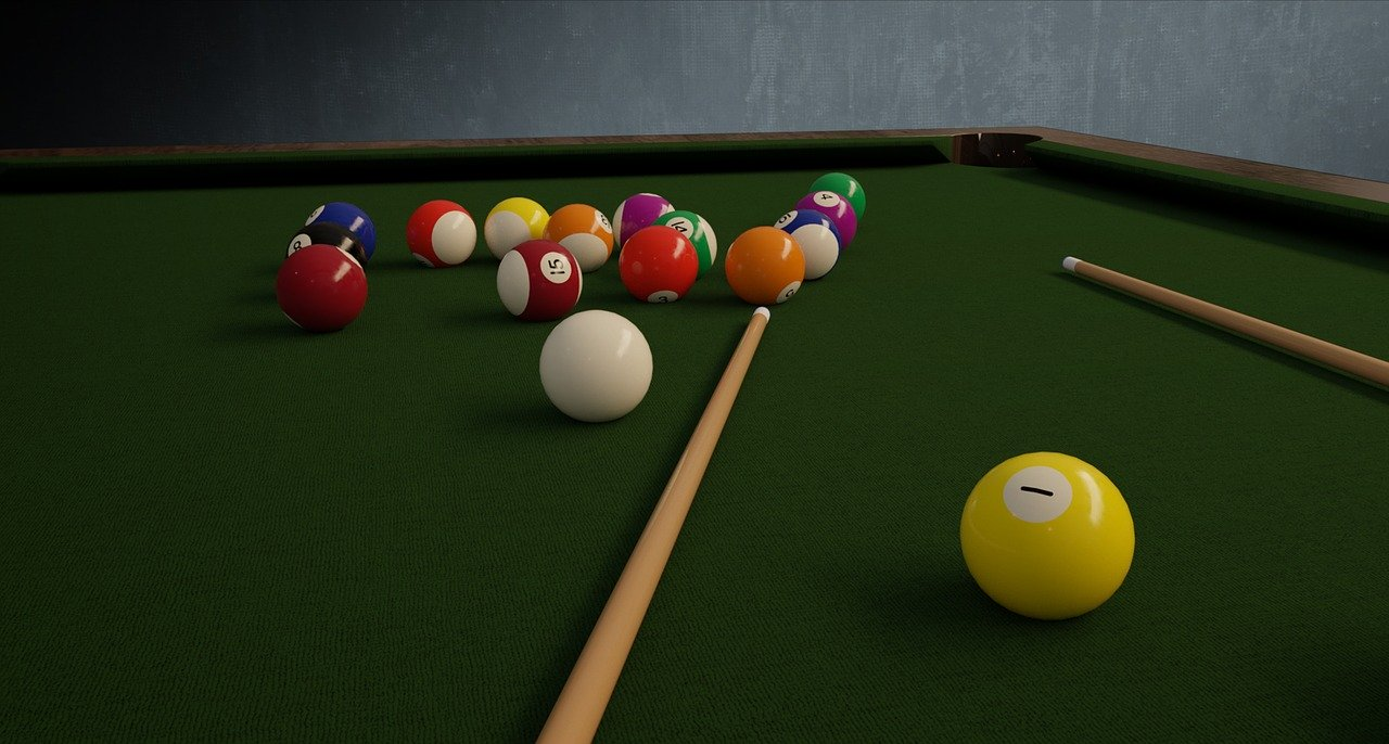 Comparateur table de billard pliable